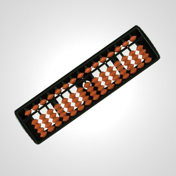 brown red color abacus