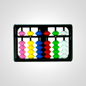 colored abacus- attractive